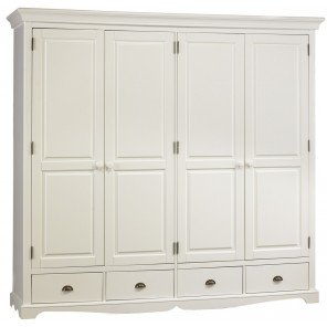 beaux meubles pas chers chambre blanche compl te lit 140 armoire chevet. Black Bedroom Furniture Sets. Home Design Ideas