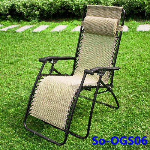 chaise longue de jardin transat m tal et toile fauteuil relax bain de soleil multicouleurs ogs. Black Bedroom Furniture Sets. Home Design Ideas