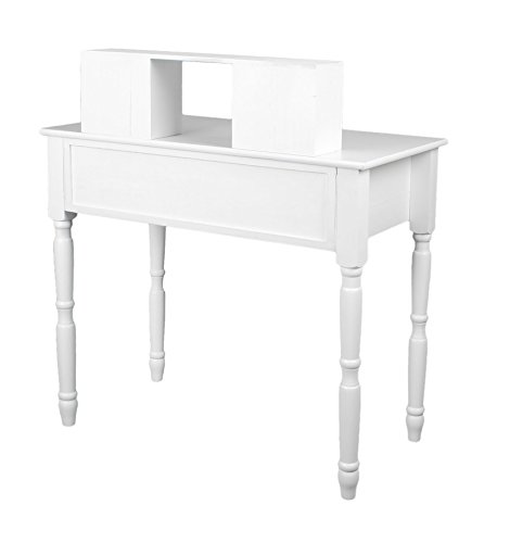 coiffeuse table de maquillage commode de coiffeur blanc. Black Bedroom Furniture Sets. Home Design Ideas