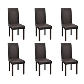 chaise de salle a manger lot de 6. Black Bedroom Furniture Sets. Home Design Ideas