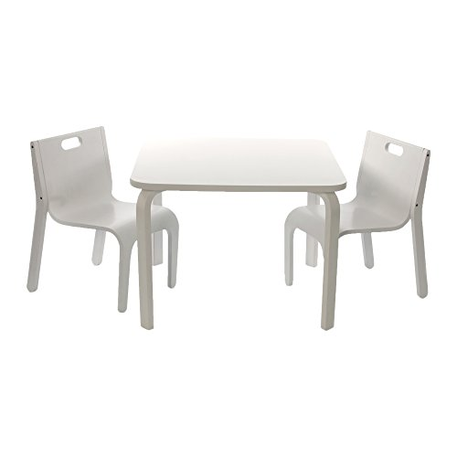 momo l 39 ensemble table et chaises york meubles enfant blanc. Black Bedroom Furniture Sets. Home Design Ideas