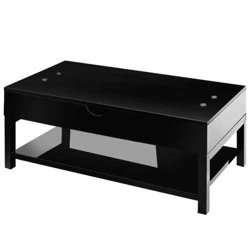 Menzzo contemporain up table basse bois 55 87 x 110 x 42 68 cm - Menzzo table basse ...