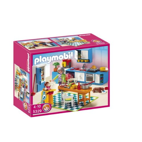 Playmobil 5329 jeu de construction cuisine for Cuisine playmobil