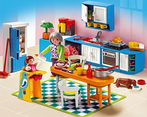 Playmobil 5329 jeu de construction cuisine for Construction cuisine