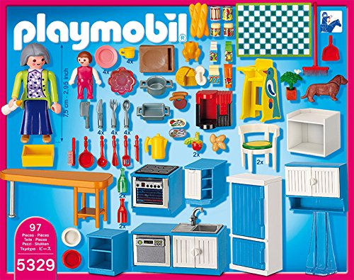 Playmobil 5329 jeu de construction cuisine for Playmobil cuisine 5329