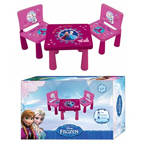 table 2 chaises en plastique reine des neiges disney frozen chambre enfant. Black Bedroom Furniture Sets. Home Design Ideas