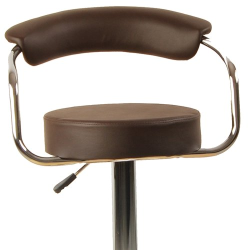 Tabouret de bar baccara marron cuisine americaine ilot central for Tabouret bar cuisine
