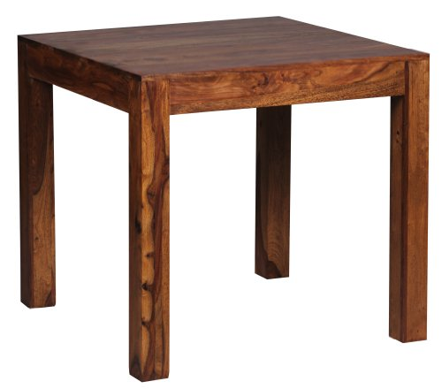 Table a manger 80 x 80 cm bois massif for Deco cuisine avec table a manger 80 cm de large