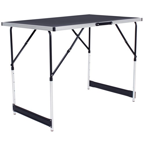 Tectake Tables Tapisser En Aluminium Ensemble De 3
