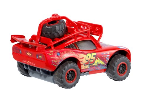 disney cars radiator springs 500 1 2 flash mcqueen tout terrain 1 v hicule 5 cm. Black Bedroom Furniture Sets. Home Design Ideas