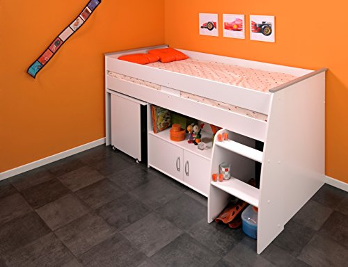 matelpro lit combin et bureau enfant milo. Black Bedroom Furniture Sets. Home Design Ideas