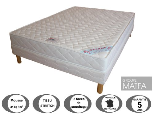 promo matelas ensemble matelas ariane sommier. Black Bedroom Furniture Sets. Home Design Ideas