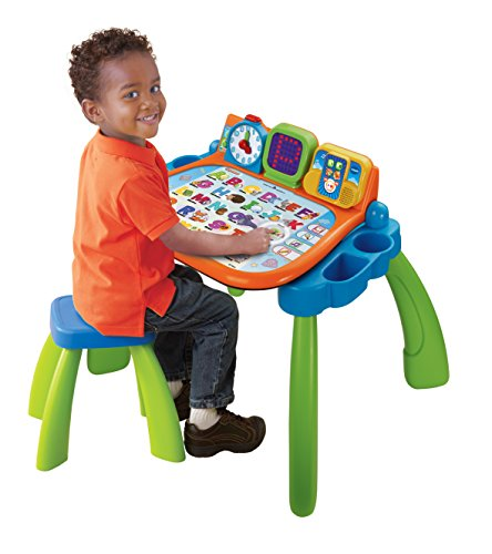 vtech 154605 jeu educatif electronique magi bureau interactif 3 en 1. Black Bedroom Furniture Sets. Home Design Ideas