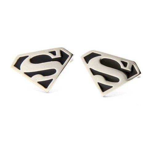boutons de manchette pour homme star manschttenkn pfe superman. Black Bedroom Furniture Sets. Home Design Ideas
