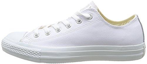 Converse Chuck Taylor All Star Adulte Mono Leather Ox, Baskets mode mixte adulte