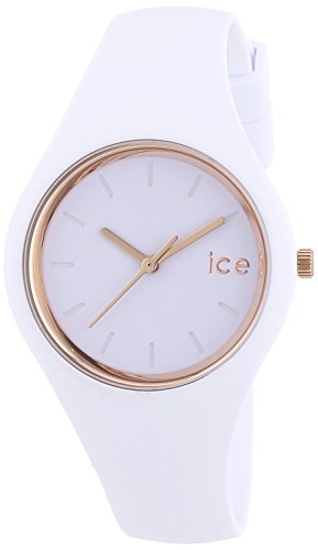 804768da9ba715 ICE-Watch – ICE Glam – White rose – gold – Small – Montre femme ...
