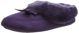 Isotoner-Isotoner-Closed-Back-With-Fur-Trim-Chaussons--doublure-chaude-femme-0