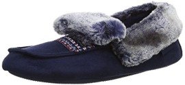 Isotoner-Isotoner-Pillowstep-Moccasin-With-Fur-Cuff-Chaussons-femme-0