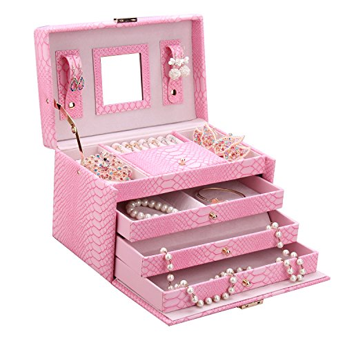 rowling bo te bijoux coffret bijoux femme zg091pinks. Black Bedroom Furniture Sets. Home Design Ideas