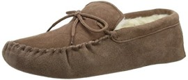 SNUGRUGS-Wool-Lined-Suede-Soft-Sole-Chaussons--doublure-chaude-homme-0