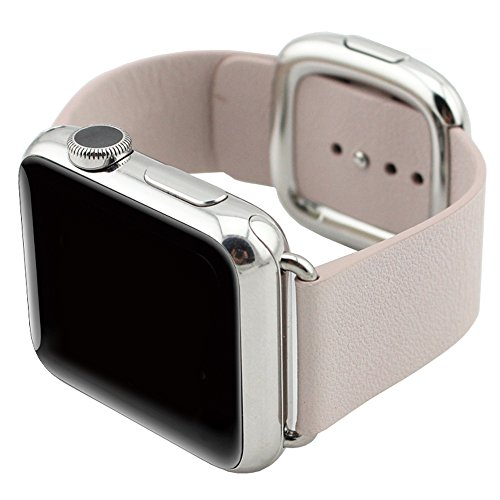 bracelet cuir apple watch 42mm bijoux la mode. Black Bedroom Furniture Sets. Home Design Ideas