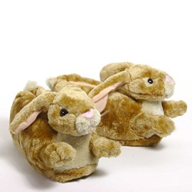 Sleeperz-Lapin-Chaussons-animaux-Adulte-et-enfant-mixte-0
