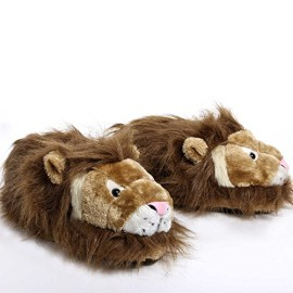 Sleeperz-Lion-Chaussons-animaux-Adulte-mixte-0
