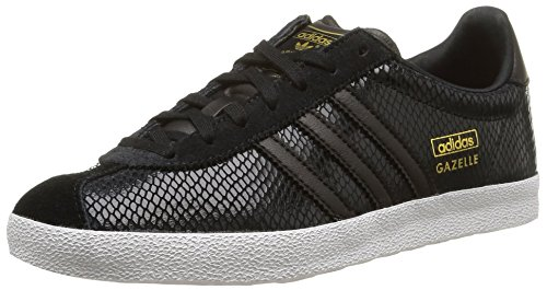 new concept df117 f1218 Adidas Gazelle OG W S81335 Womens Leather  Synthetic Trainers Black White  – 40-23 EU