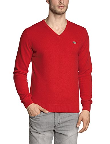 Lacoste – Pull – Col V – Manches longues