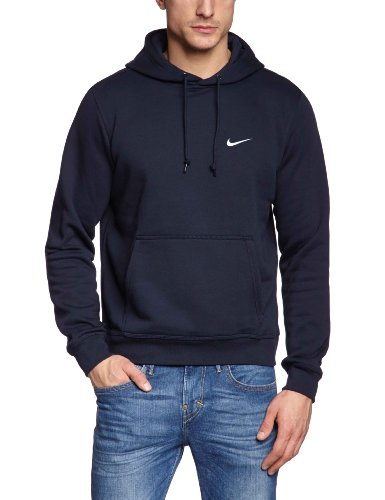 nike classic club swoosh sweat shirt capuche homme dark. Black Bedroom Furniture Sets. Home Design Ideas