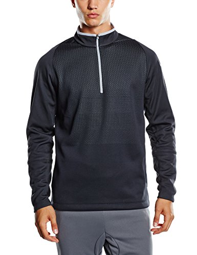 Pull Manches Hypervis Nike Anthracite Homme Zip 2 12 Longues 0 gpCp7R