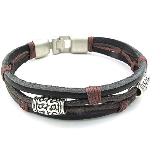 konov bijoux bracelet homme tribal tress manchette cuir cordon alliage fantaisie pour. Black Bedroom Furniture Sets. Home Design Ideas