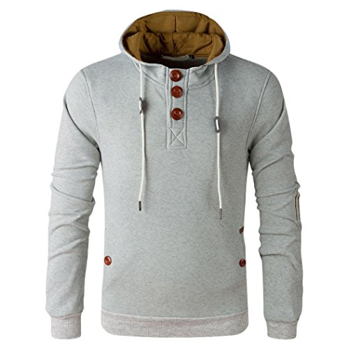 sweat shirt homme amison automne hiver sport pull hoodies chandail. Black Bedroom Furniture Sets. Home Design Ideas