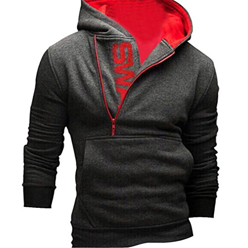 sweat shirt homme amison automne hiver sport pull hoodies chandail manteaux. Black Bedroom Furniture Sets. Home Design Ideas