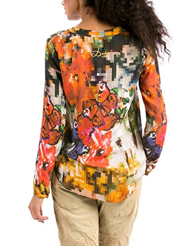 Femme Camila Chemisier Manches Desigual Longues – Normale Taille 8wPXn0kO