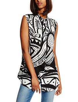 Chemisier – Selena Manche Sans Normale Desigual Taille Femme IW29YHeED