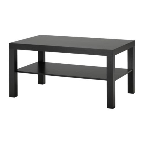 Ikea lack table basse 90 x 55 x 45 cm brun noir - Ikea table basse lack ...