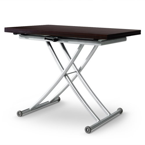 Table basse relevable carrera bois wenge for Table basse relevable wenge