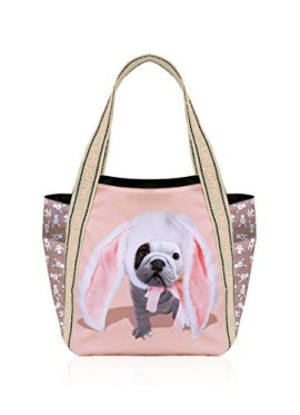 Teo-jasmin-Sac-cabas-TEO-BUNNY-Taille-Taille-unique-Couleur-Rose-0