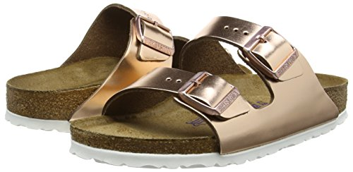 birkenstock arizona leder softfootbed mules femme. Black Bedroom Furniture Sets. Home Design Ideas