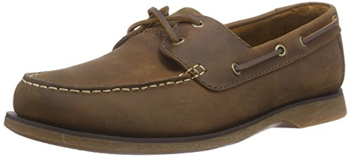 Port Clarks View Bateau Chaussures Homme S1CfnO1