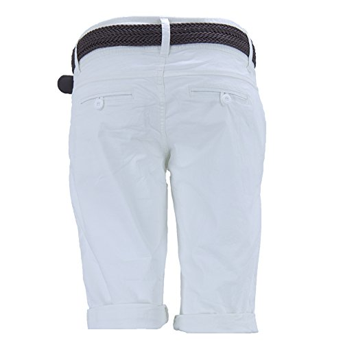 Fresh Made Chino Short Ceinture Bermudes Pantalon Femme dxoeCBr