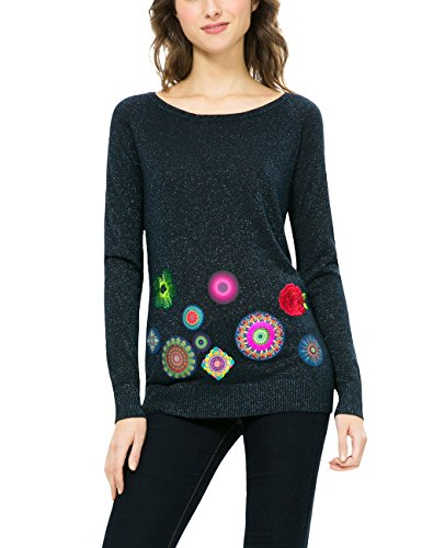 Desigual Jers_Martina, Pull Femme
