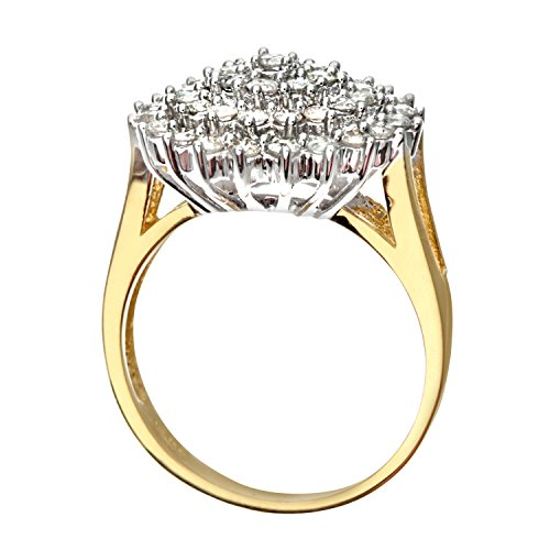 bague pr3440 p femme or jaune 18 carats 6 gr diamant 1 cts. Black Bedroom Furniture Sets. Home Design Ideas