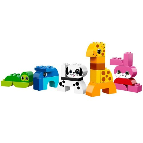 lego duplo briques 10573 jeu de construction animaux. Black Bedroom Furniture Sets. Home Design Ideas