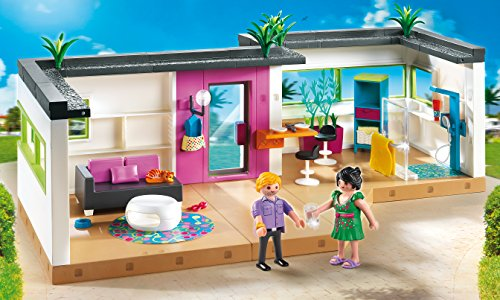Playmobil 5586 jeu de construction studio des invites for Salle a manger playmobil city life