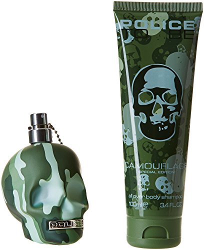 Police Homme Parfum Be Coffret 75 To MlGel Cheveuxcorps Camouflage Pour – Douche gvYf76by