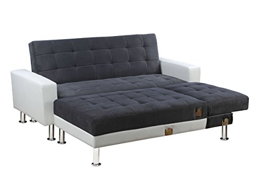 revgercom habitat canape dangle convertible idee With canape d angle exterieur 1 canape dangle 4 places convertible capri tissu simili