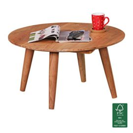 Vidaxl table basse de salon en verre et mdf blanc laqu - Pied de table basse en bois ...