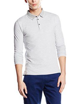 Celio-Polo--rayures-Manches-longues-Homme-0